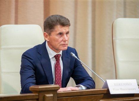 Олег Кожемяко приступил к работе в Приморье