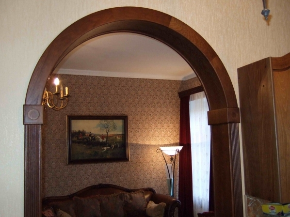 Межкомнатные арки – стильное оформление