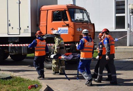 Приморские спасатели успешно ликвидировали аварии на газовой станции