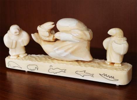 В Якутии ищут пути экспорта в Китай изделий из бивня мамонта