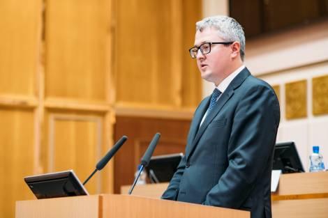 Ил Тумэн дал согласие главе Якутии на назначение Владимира Солодова председателем правительства республики