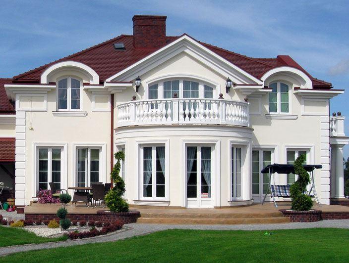 Архитектурные декоративные элементы для фасада из полиуретана