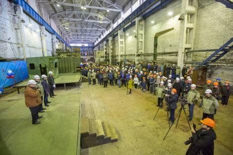 В Приморье состоялась церемония закладки килей двух судов для нужд Камчатки