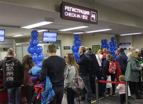 В международном аэропорту Хабаровск открыли новый рейс на Хайнань