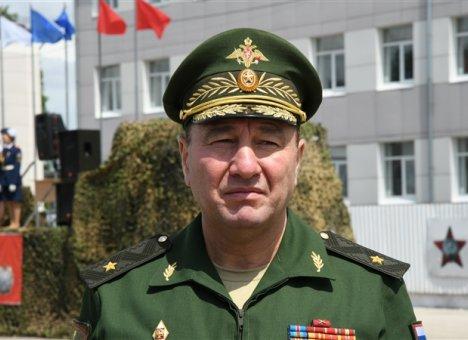 Новый командующий Восточным военным округом представлен подчиненным
