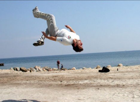 Спортсмен из Владивостока стал первым в мире, кто исполнил необычное сальто