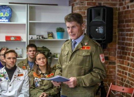 Олег Кожемяко пообещал студотрядовцам достойную работу в Приморье