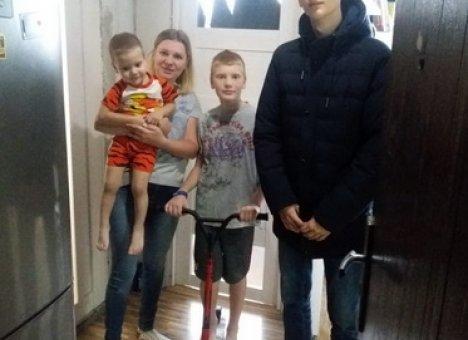 #КомандаПриморья исполнила мечту мальчика из Владивостока