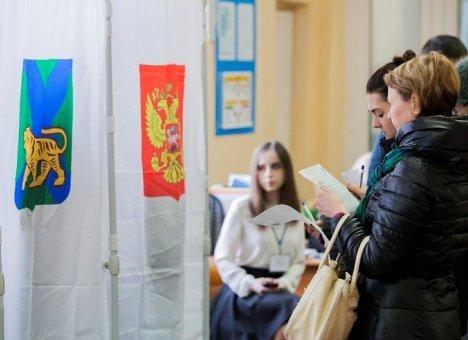Выборы губернатора Приморья попали под наблюдение