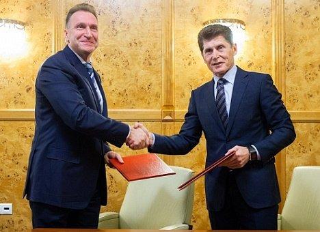 Олег Кожемяко добился от Игоря Шувалова финансирования социальных проектов в Приморье
