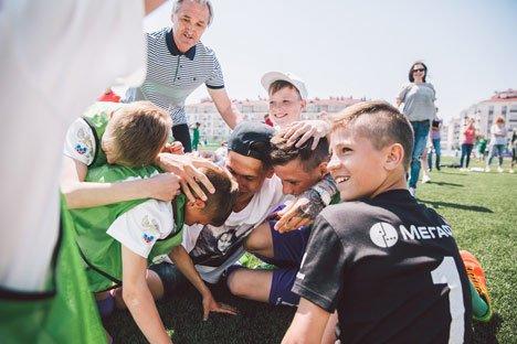 Юные футболисты из Приморья летят в Лондон на встречу с