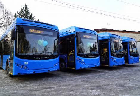 Муниципальный автопарк Хабаровска пополнился новыми автобусами на газовом ходу