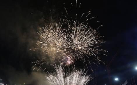 Жители и гости Владивостока увидят новогодний красочный фейерверк в трёх точках