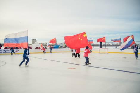 Международный матч по хоккею пройдет на границе России и Китая