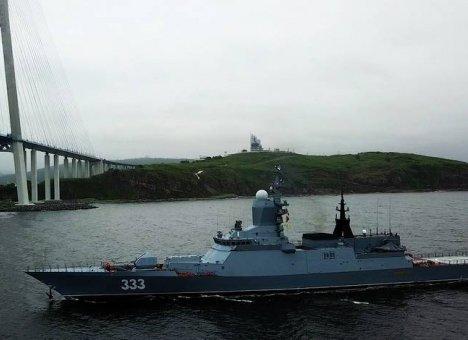 Корабль ТОФ атаковали прямо у берегов Приморья