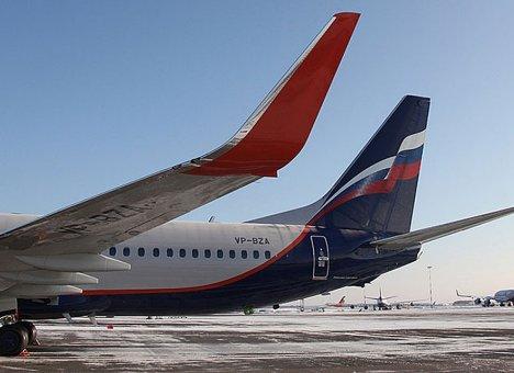 На самолете, вылетевшем из Москвы, искали бомбу