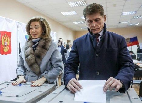 Более 1300 избирательных участков открылись в Приморье