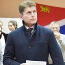 Олег Кожемяко лидирует на выборах главы  Приморья