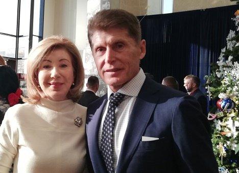 Дмитрий Медведев и Юрий Трутнев поздравили Олега Кожемяко