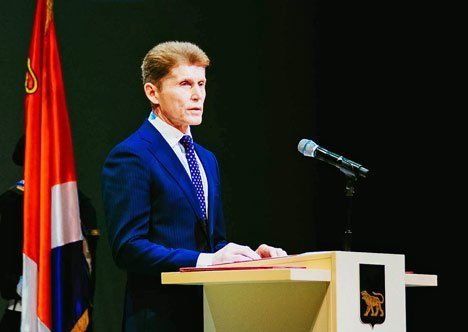 Новый губернатор Приморья вступил в должность