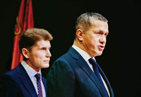 Полпред Трутнев оставил нового губернатора Приморья без подарка