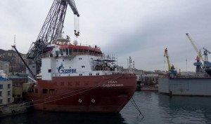 Во Владивостоке завершилось строительство современного судна снабжения