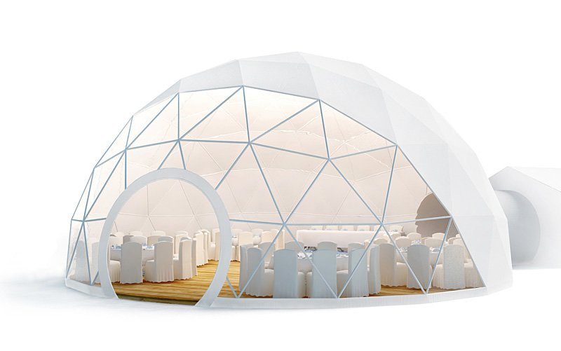 Fullerdome.com – создание купольных конструкций