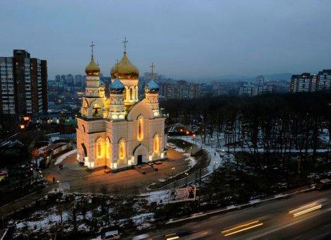 Игорь Пушкарёв поздравил владивостокцев с Рождеством Христовым