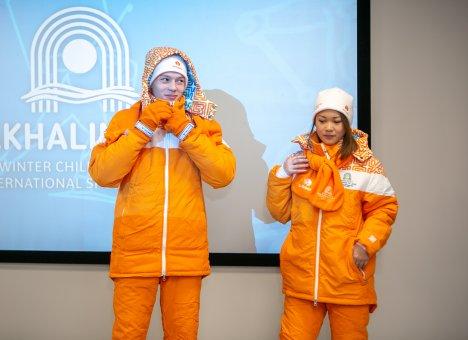 На Сахалине представили образцы формы I зимних Международных спортивных игр