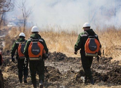 Особый противопожарный режим ввели в Хасанском районе Приморья