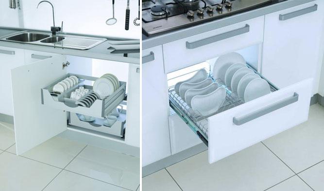 Компактные и легкие сушки для посуды от компании plastic-shop.in.ua