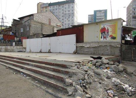 Во Владивостоке сносят рынок, проработавший 20 лет