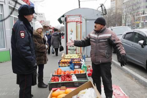 Владивосток очищают от незаконной торговли с помощью полиции