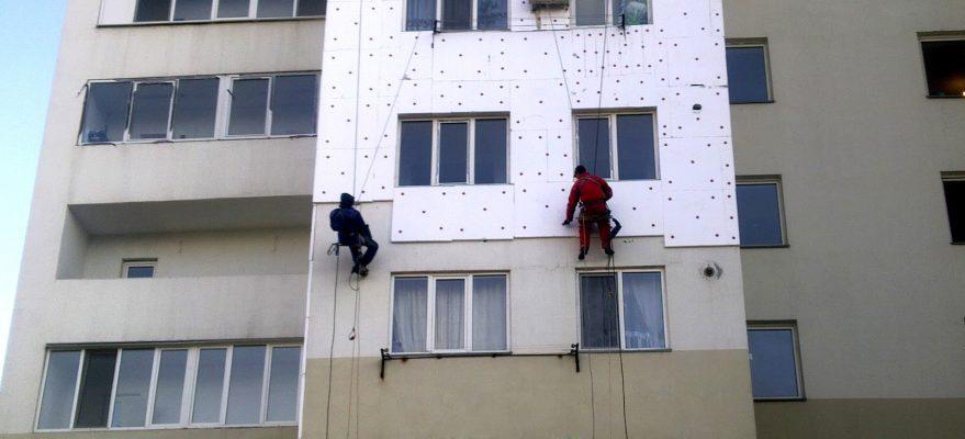 Все об утеплении высотных зданий