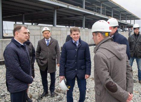 Новый рыбоперерабатывающий завод в Приморье будет построен раньше срока