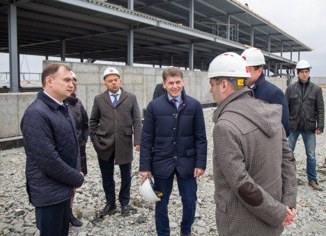 Губернатор Приморья оценил ход строительства