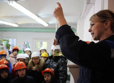 День воды прошел на Майской ГРЭС в Хабаровском крае