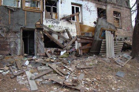 Дурно пахнущие руины столицы