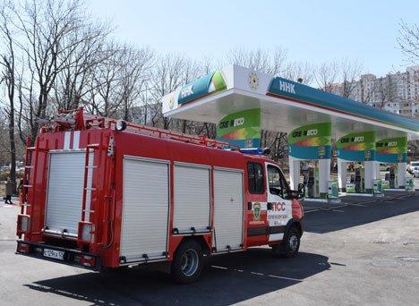 Обновленная АЗС встречает автолюбителей на въезде в столицу Дальнего Востока