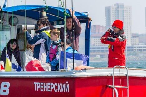 Выставка катеров и яхт Vladivostok Boat Show XI: Гонка под парусом