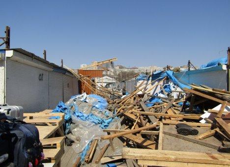 У главного рынка Владивостока будет новая крыша