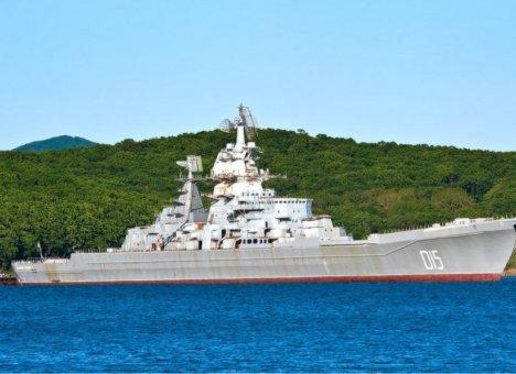 Крупнейший корабль ТОФ пустят на гвозди