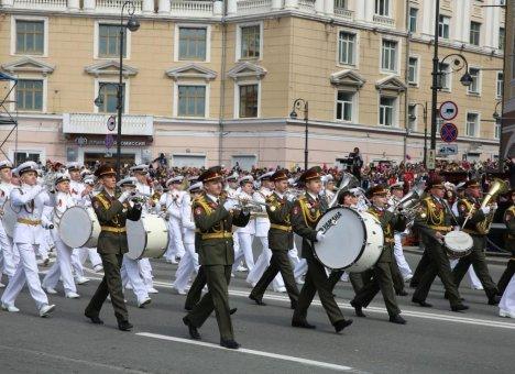 Во Владивостоке пройдёт репетиция Военного парада