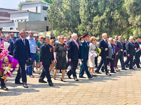 Дань памяти советским воинам отдали в КНДР