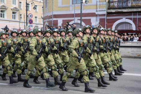 Генеральная репетиция парада пройдёт во Владивостоке