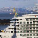 В порт Петропавловска-Камчатского зашел круизный лайнер Silver Muse