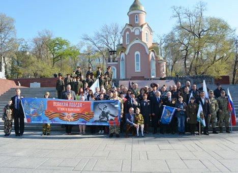 Автопробег в честь Великой Победы состоялся в Приморье