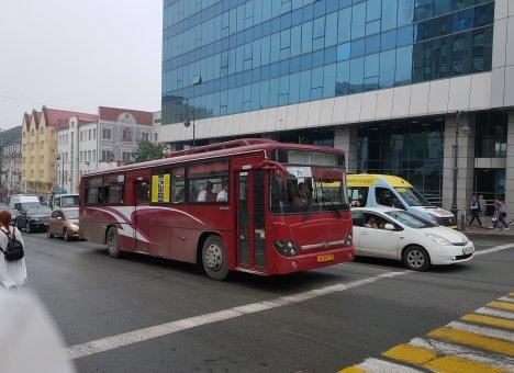 9 мая во Владивостоке изменится схема движения автобусов