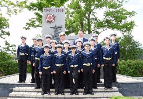 Открытый урок для кадетов провели на территории Владивостокской нефтебазы