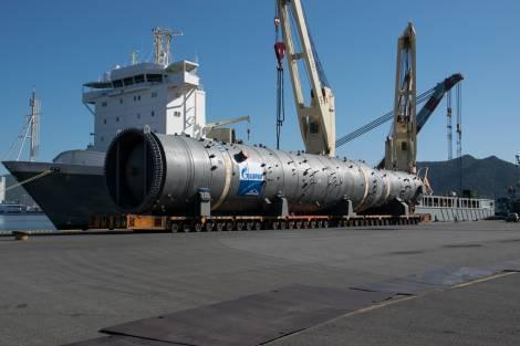Начинается доставка основного оборудования для третьей технологической линии Амурского ГПЗ